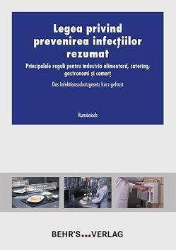 Das Infektionsschutzgesetz kurz gefasst – rumänisch von Behr's,  GmbH