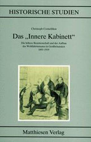 """Das """"Innere Kabinett"""" von Cornelißen,  Christoph"""