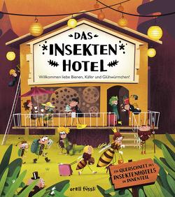 Das Insektenhotel von Bartíková,  Petra, Haraštová,  Helena, Kopecký,  Tomáš, Nováková,  Markéta, Oberholzer,  Nicole