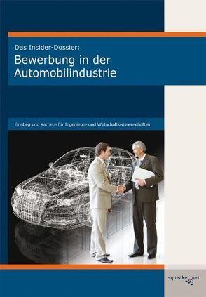 Das Insider-Dossier: Bewerbung in der Automobilindustrie von Krzykowski,  Matthäus, Schäfer,  Almut