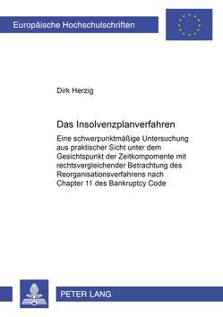 Das Insolvenzplanverfahren von Herzig,  Dirk
