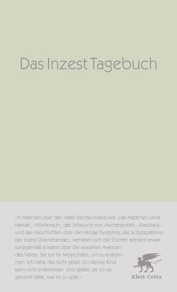 Das Inzest-Tagebuch von Anonyma, Schuenke,  Christa
