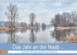 Das Jahr an der Naab zwischen Burglengenfeld und Kallmünz (Tischkalender 2018 DIN A5 quer) von Rinner,  Rudolf