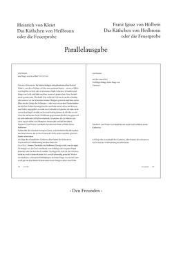 Das Käthchen von Heilbronn oder die Feuerprobe von Emig,  Günther