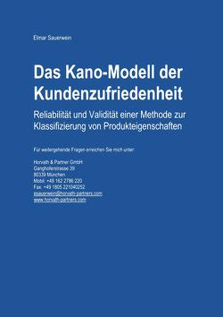Das Kano-Modell der Kundenzufriedenheit von Sauerwein,  Elmar