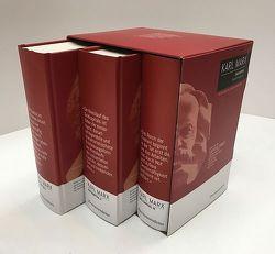 Das Kapital – Kritik der politischen Ökonomie. Gesamtausgabe in drei Bänden von Marx,  Karl