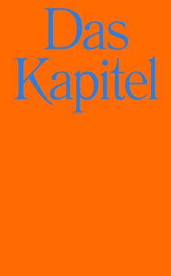Das Kapitel von Marx,  Stefan