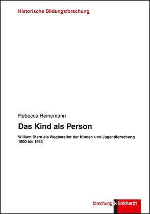 Das Kind als Person von Heinemann,  Rebecca