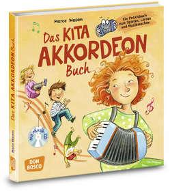Das Kita-Akkordeon-Buch von Gulden,  Elke, Scheer,  Bettina, Wasem,  Marco