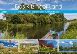 Das Kitzinger Land – Wandern und Radfahren mit Kunst und Kultur (Wandkalender 2019 DIN A2 quer) von Will,  Hans