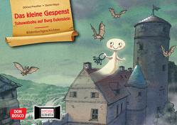 Das kleine Gespenst. Tohuwabohu auf Burg Eulenstein. Kamishibai Bildkartenset. von Napp,  Daniel, Preussler,  Otfried