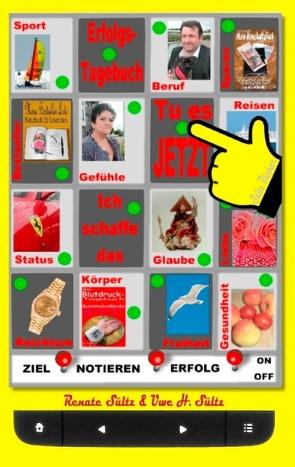 """Das kleine mobile Erfolgstagebuch – """"Ja, ich schaffe das!"""" von Sültz,  Renate, Sültz,  Uwe H."""