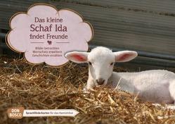 Das kleine Schaf Ida findet Freunde. Kamishibai Bildkartenset. von Wieber,  Monika