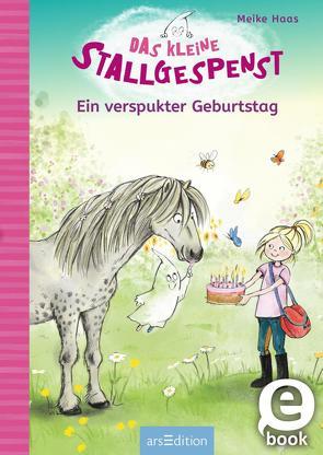 Das kleine Stallgespenst – Ein verspukter Geburtstag von Haas,  Meike, Livanios,  Eleni