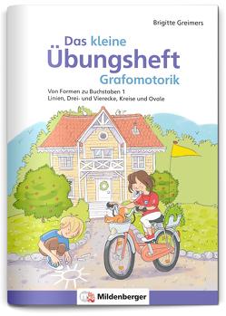 Das kleine Übungsheft Grafomotorik, Heft 1 von Greimers,  Brigitte