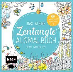 Das kleine Zentangle-Ausmalbuch von Winkler,  Beate