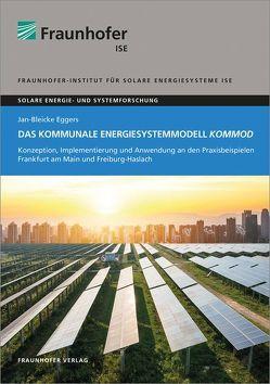 Das kommunale Energiesystemmodell KomMod. von Eggers,  Jan-Bleicke