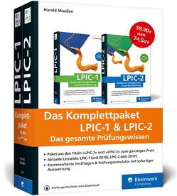 Das Komplettpaket LPIC-1 & LPIC-2 von Maaßen,  Harald