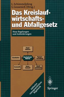Das Kreislaufwirtschafts- und Abfallgesetz von Gessenich,  Stefan, Schimmelpfeng,  Lutz
