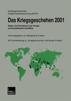 Das Kriegsgeschehen 2001 von Schreiber,  Wolfgang