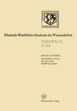 Das Kultbild im Ritus des esoterischen Buddhismus Japans von Goepper,  Roger