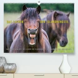 Das Lachen der Islandhengste. (Premium, hochwertiger DIN A2 Wandkalender 2020, Kunstdruck in Hochglanz) von Gerlach,  Ingo