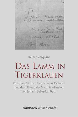 Das Lamm in Tigerklauen von Marquard,  Reiner