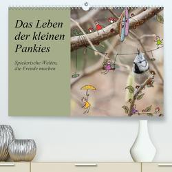 Das Leben der kleinen Pankies (Premium, hochwertiger DIN A2 Wandkalender 2021, Kunstdruck in Hochglanz) von Langenkamp,  Heike