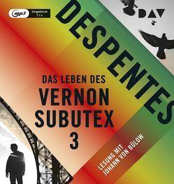 Das Leben des Vernon Subutex 3 von Bülow,  Johann von, Despentes,  Virginie, Steinitz,  Claudia
