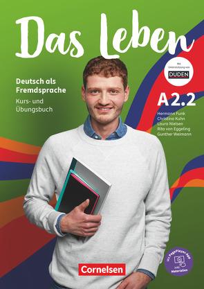Das Leben – Deutsch als Fremdsprache – A2: Teilband 2 von Funk,  Hermann, Kuhn,  Christina, Nielsen,  Laura, von Eggeling,  Rita Maria
