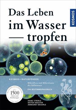 Das Leben im Wassertropfen von Bäuerle,  Annegret, Krauter,  Dieter, Lang,  Wolfgang, Streble,  Heinz