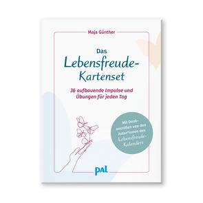 Das Lebensfreude-Kartenset von Günther,  Maja, Wolf,  Doris
