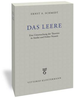 Das Leere von Schmidt,  Ernst A