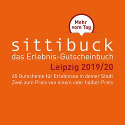 Das Leipzig – Geschenk: Gutscheinbuch sittibuck 2 für 1 Erlebnis – Gutscheine 2019/20