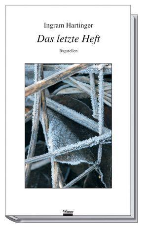 Das letzte Heft von Hartinger,  Ingram