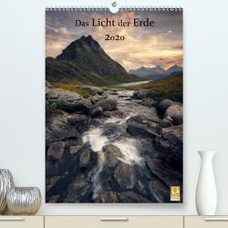 Das Licht der Erde 2020 (Premium, hochwertiger DIN A2 Wandkalender 2020, Kunstdruck in Hochglanz) von Röser,  Felix