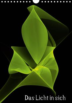 Das Licht in sich / AT-Version (Wandkalender 2021 DIN A4 hoch) von Art,  gabiw