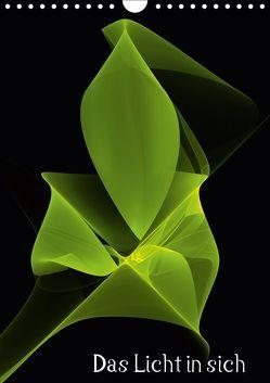 Das Licht in sich / CH-Version (Wandkalender 2019 DIN A4 hoch) von Art,  gabiw