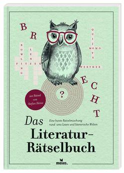 Das Literatur-Rätselbuch von Dünhölter,  Stephanie, Heine,  Stefan