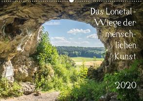Das Lonetal – Wiege der menschlichen Kunst (Wandkalender 2020 DIN A2 quer) von Rohwer,  Klaus