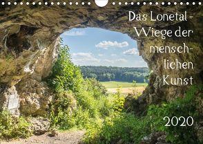 Das Lonetal – Wiege der menschlichen Kunst (Wandkalender 2020 DIN A4 quer) von Rohwer,  Klaus