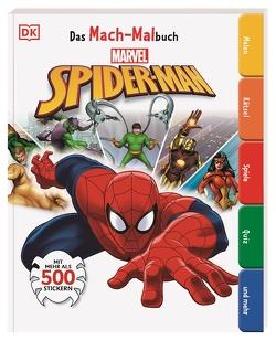 Das Mach-Malbuch Marvel Spider-Man von Fentiman,  David, Murray,  Helen