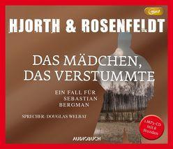 Das Mädchen, das verstummte (MP3-CD) von Allenstein,  Ursel, Hjorth,  Michael, Rosenfeldt,  Hans, Welbat,  Douglas