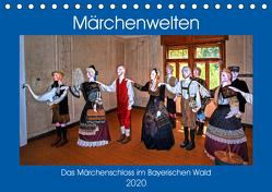Das Märchenschloss im Bayerischen Wald (Tischkalender 2020 DIN A5 quer) von Zillich,  Bernd