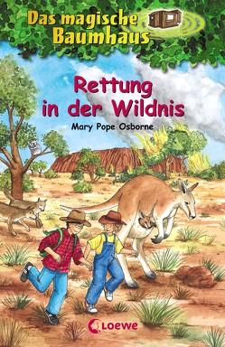 Das magische Baumhaus 18 – Rettung in der Wildnis von Bayer,  RoooBert, Osborne,  Mary Pope, Rahn,  Sabine