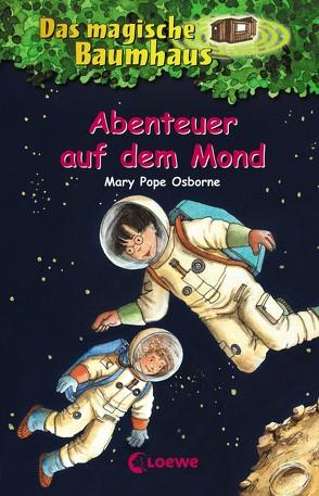 Das magische Baumhaus 8 – Abenteuer auf dem Mond von Bayer,  RoooBert, Pope Osborne,  Mary, Rahn,  Sabine