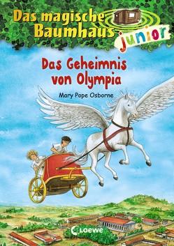 Das magische Baumhaus junior 19 – Das Geheimnis von Olympia von Knipping,  Jutta, Pope Osborne,  Mary, Rahn,  Sabine