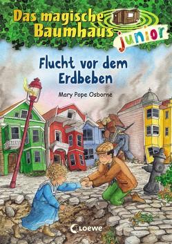 Das magische Baumhaus junior 22 – Flucht vor dem Erdbeben von Knipping,  Jutta, Pope Osborne,  Mary, Rahn,  Sabine