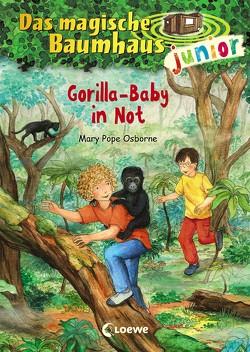 Das magische Baumhaus junior 24 – Gorilla-Baby in Not von Knipping,  Jutta, Pope Osborne,  Mary, Rahn,  Sabine