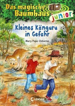 Das magische Baumhaus junior – Kleines Känguru in Gefahr von Knipping,  Jutta, Pope Osborne,  Mary, Rahn,  Sabine